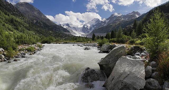 Suiza lucha por salvar un emblemático glaciar